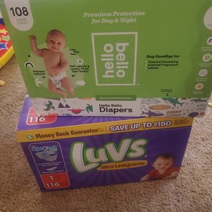 Size 1 Diapers for Sale in Tracy, CA