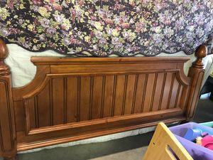 Queen/Full Solid Wood Bed Frame for Sale in Tempe, AZ