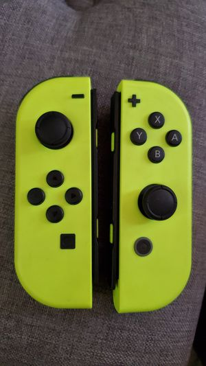 Nintendo Switch Neon yellow joycons for Sale in Santa Ana, CA