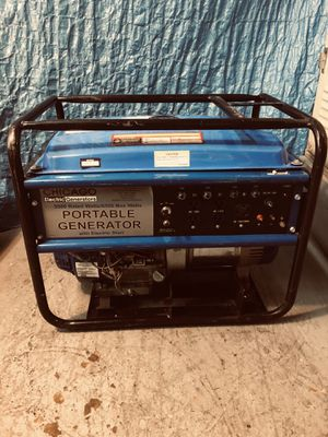 Chicago electric 6500 watt generator for Sale in Washington, DC