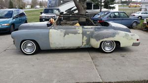 1950 chev custom convertible project Nevada rust free car 350ci 350 trans mustang front suspension $ 13,000 {contact info removed} Flushing mi. 48433 for Sale in Flushing, MI