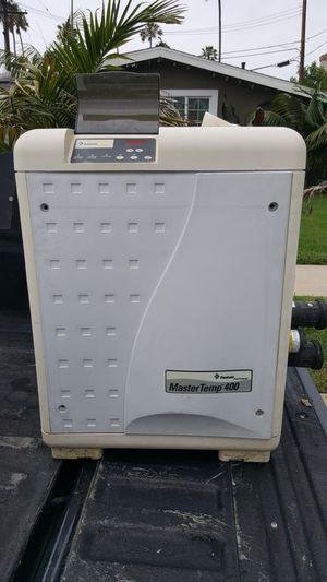 Pool heater mastertemp 400,000 BTU for Sale in Huntington Beach, CA