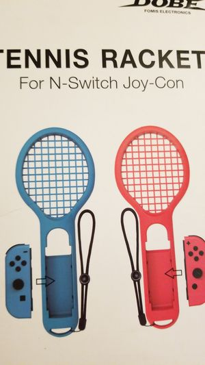 Tennis racket for switch 2pk for Sale in Fresno, CA