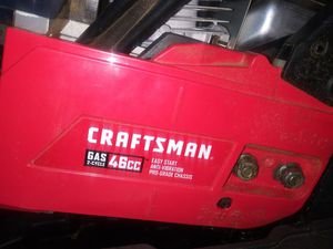 Craftsman Gas 2 Cycle Chainsaw for Sale in Stockton, CA