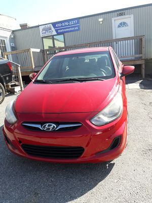 2013 Hyundai Accent miles 106152 for Sale in Baltimore, MD