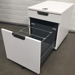 Galant Cool Under Desk Filing Cabinet 2 Drawer ikea Office Under Desk Pedestal for Sale in Austin, TX
