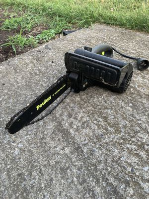 Poulan Electric Chainsaw w/ Tree Branch Extender for Sale in Elmira, NY