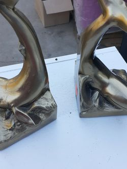 Whale Brass Bookends for Sale in Stanton,  CA