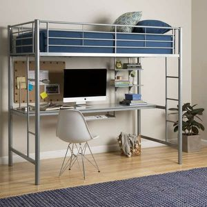 Twin bunk bed with desk...like new! for Sale in Phoenix, AZ