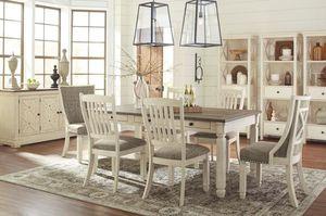 Bolanburg Antique White/Oak Dining Room Set | D647 for Sale in Houston, TX