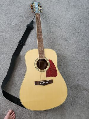 Ibanez aw40nt acoustic guitar 2008 natural for Sale in Trenton, NJ
