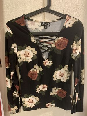 Long sleeve floral shirt for Sale in Vancouver, WA