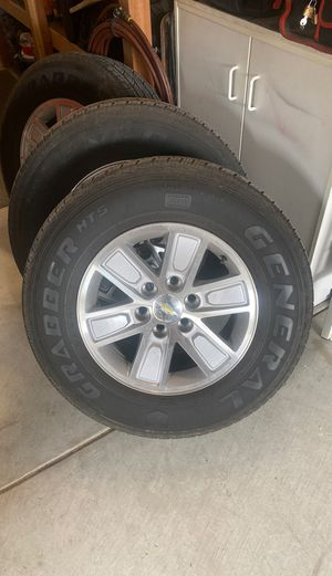 Factory GM wheels and tires for Sale in Menifee, CA