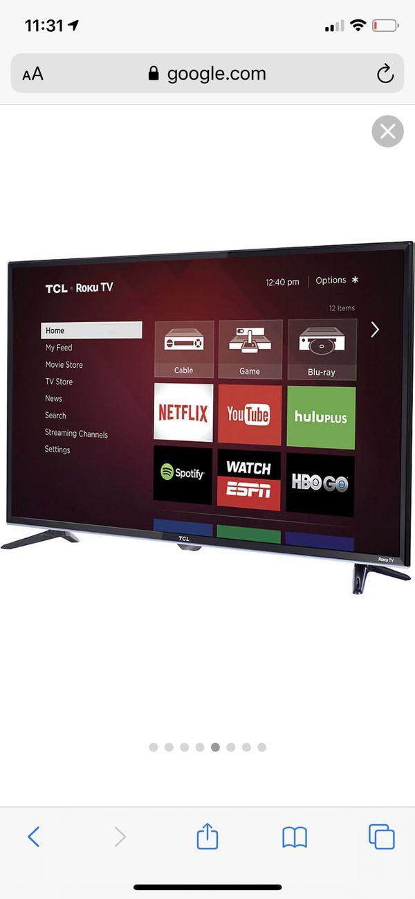 """TCL Smart TV 32"""" Roku TV"""