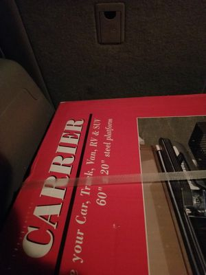 Cargo Carrier for vehicle. Great for traveling. for Sale in Kolin, LA