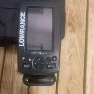 Lowrance Elite-4 HDI Fish Finder for Sale in Ashland City, TN