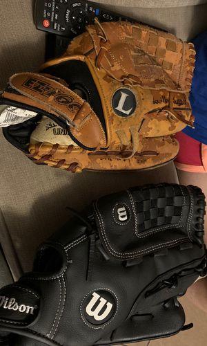 Baseball gloves $5 each for Sale in Norcross, GA