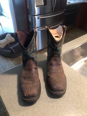 Ariat steel toed work boots for Sale in Van Buren Bay, NY