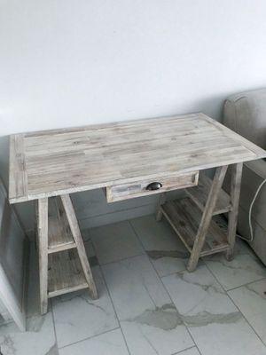 Rustic Wooden Desk for Sale in Boca Raton, FL