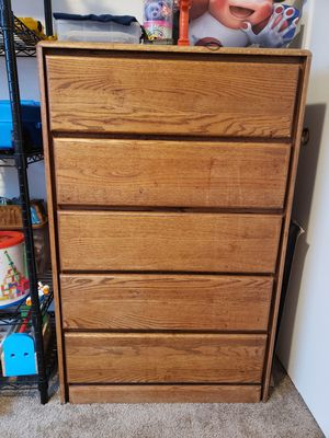 Wooden dresser for Sale in Vancouver, WA