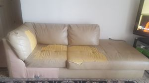 One side of sectional couch for Sale in Rosedale, MD