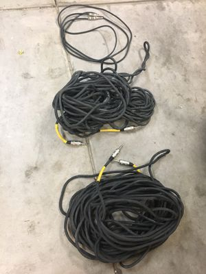 Three speaker / audio cables - all for $10 for Sale in Mesa, AZ