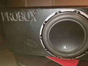 Cajon..jl. Audio .w6 y. Amplificador no. 500.whats con. Otra. Subwoofer sin cajón todo. Por. $400 for Sale in Dallas, TX