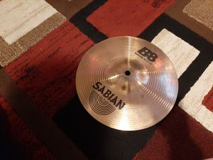 Drum set 10 inch sabian splash cymbal for Sale in South Gate, CA