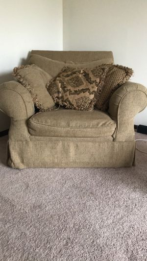 Tan sofa chair for Sale in Erie, PA