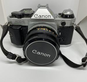 Canon AE-1 SLR Film Camera for Sale in New Haven, CT