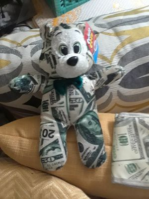 Money Bear & Benjamin's Wallet $20.00 cash only (serious buyers) for Sale in Dallas, TX