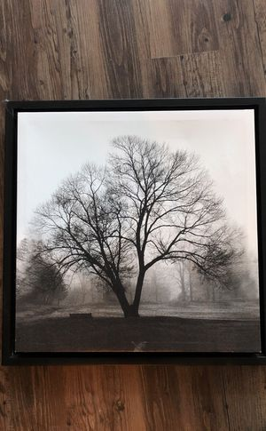 Canvas Tree with black framed border for Sale in Columbus, OH