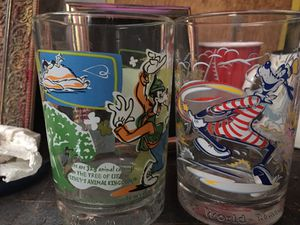 Collectibles! Disney world drinking glasses for Sale in Las Vegas, NV