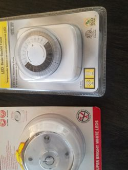 New In Package Timer And Wireless Light for Sale in Glendora,  CA