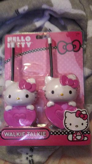 Hello kitty walkie talkie for Sale in Nashville, TN