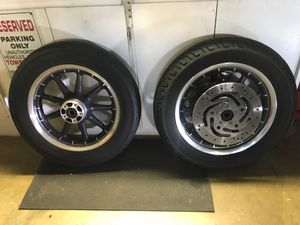 2006 Harley Davidson wagon wheels for Sale in West Covina, CA