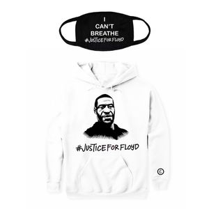 Jusictice for Floyd Hoodie and Mask for Sale in Glendale, CA