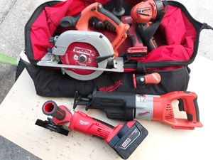 Rare Milwaukee 28 Volt Tools for Sale in Tampa, FL