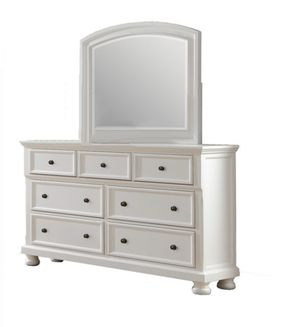 Laurelin by Homelegance~White dresser with Mirror -Brand New in box for Sale in Winchester, CA