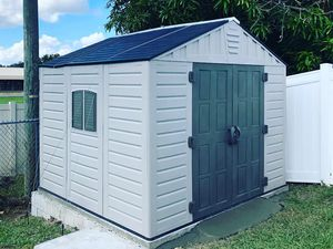 Plastic Shed New for Sale in Kissimmee, FL