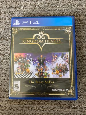 Kingdom hearts: the story so far for Sale in El Cajon, CA