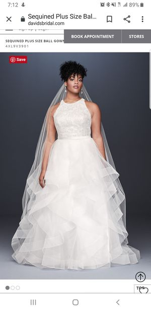 Wedding dress and accessories for Sale in Mulberry, FL