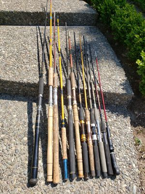 Project parts fishing poles for Sale in Federal Way, WA