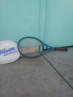 Wilson tennis racket 4 and 3/4 string at 55 to 65 pounds L-3 for Sale in Riverside, CA