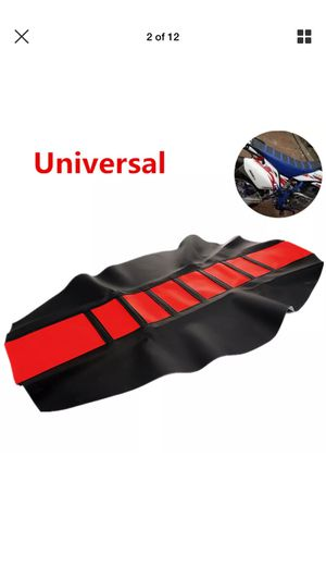 Universal motorcycle seat cover for Sale in San Antonio, TX
