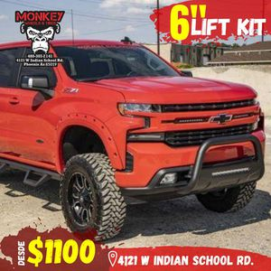 Lift kit wheels and wheels tires for Sale in Scottsdale, AZ