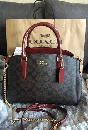 Coach Signature Handbag for Sale in Dallas, TX
