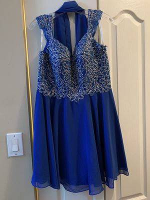 Formal/Prom Dress with shoulder drape Size L for Sale in Miami, FL