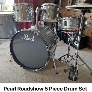 Pearl roadhouse 5 Piece Drum Set for Sale in HUNTINGTN BCH, CA