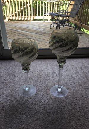 Decorative Candle Holders for Sale in Bristow, VA